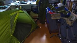 Testpacken und Aufbauen